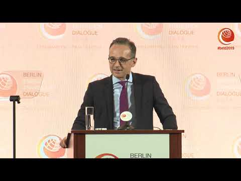 Heiko Maas, German Federal Foreign Minister – Opening of the #betd2019