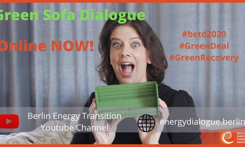 🥳👏💡the first #betd2020 Green Sofa Dialogue is online NOW! @jxporto, @MWorsdorfer and Andreas Gandolfo discuss how #Covid_19 impacts the #energytransition! Tune in on the BETD Website or on the BETD YouTube Channel to find out!   #GreenDeal #GreenRecovery #greenstimulus https://t.co/bq1rjqaC1x