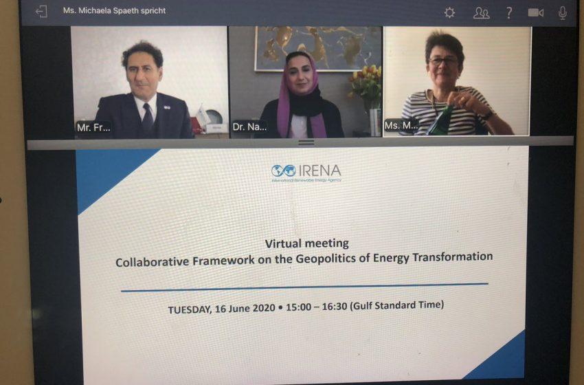 RT @GERClimatEnergy: Important debate on the #geopolitics of Energy transformation with @flacamera, @NAH_208 & many @IRENA member states. Let us take this issue forward in times of geopolitical turbulences! https://t.co/Qg0lud1y72