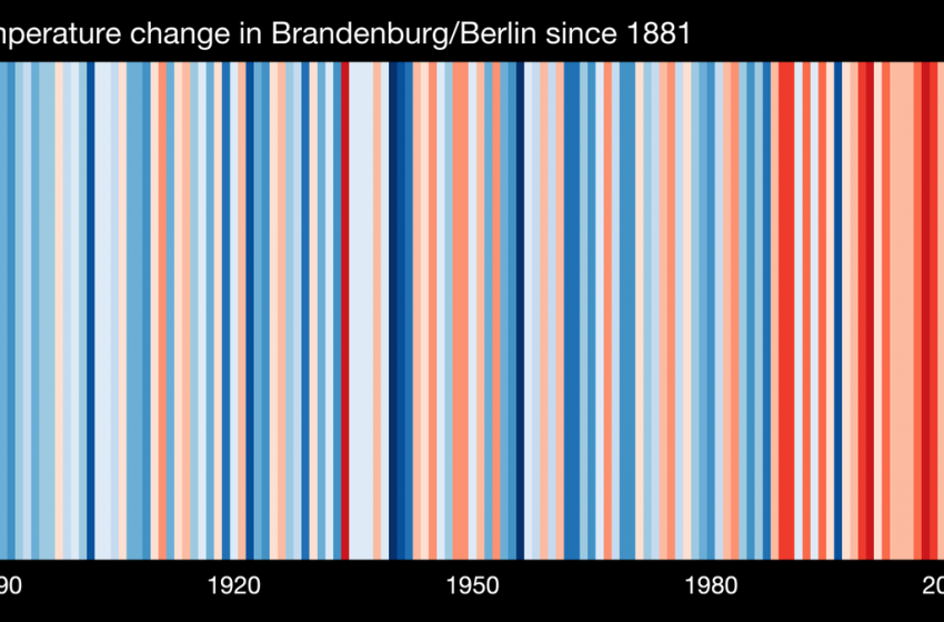 This is Berlin since 1881, getting warmer & warmer. 📣Calling on the #BetdFellows: What does #ClimateChange look like in your region?🌍Go to https://t.co/SWj94skPS7 & #ShowYourStripes! #EnergyTransition #betd2020@SharonTshipa @Diann_Nava @theturner @sharonjriley @krismantarika https://t.co/JHhFfwNLHD