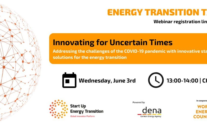 RT @StartUpGET: Join our #SET webinar on 03.06 @ 1PM CEST hosted by @dena_news @WECouncil!⚡️ What role does the #EnergyTransition and innovation play in addressing the challenges of the #CoronaCrisis?🌍 Hear from industry experts and the #SET20 finalists! Register here: https://t.co/0rvr9iNWuU https://t.co/4061ADLV35