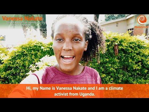 #betd2020 Speaker Statement:  Vanessa Nakate