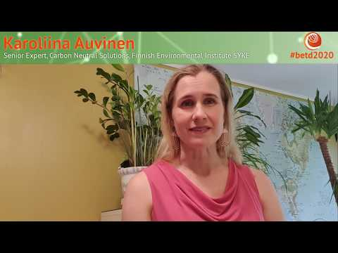 #betd2020 Speaker Statement: Karoliina Auvinen