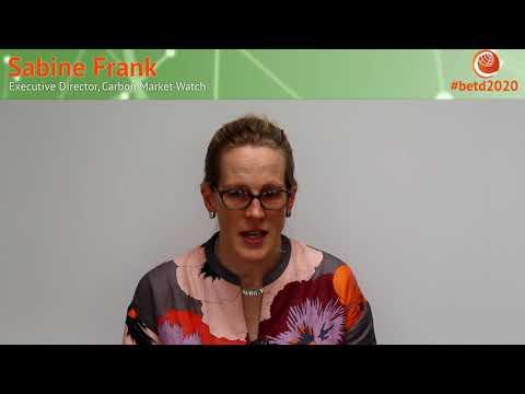 #betd2020 Speaker Statement: Sabine Frank