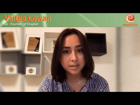 #betd2020 Speaker Statement: Vaitea Cowan
