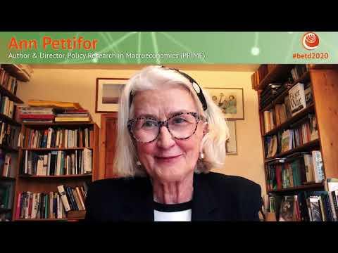 #betd2020 Speaker Statement: Ann Pettifor