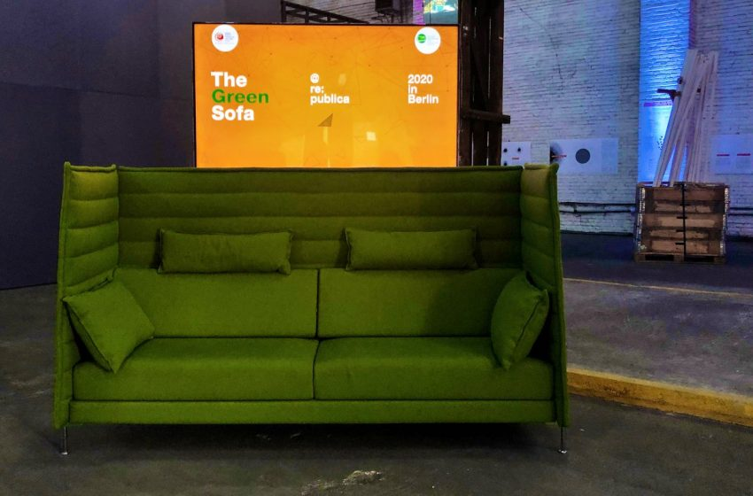 BREAKING: the @greensofa_betd has arrived at the #rpcampus and will appear during the entire #sustainabilityweek – Thanks for ha…