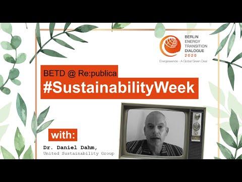 #SustainabilityWeek #VideoStatement: Daniel Dahm