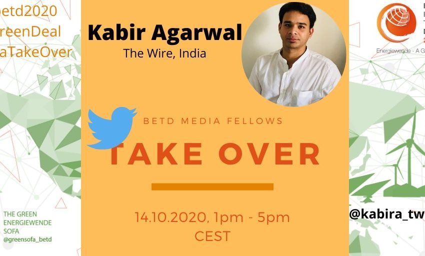 Next Wednesday October 14,  Kabir Agarwal, @kabira_tweeting #betdfellow 2020, will take over the Green Sofa Twitter Account from…