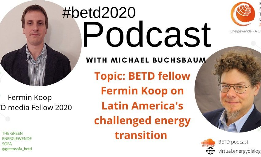 The new edition of the #betd2020 Podcast is up! @LMicalBuchsbaum sits down with #betdfellow & fellow competition winner @fer…