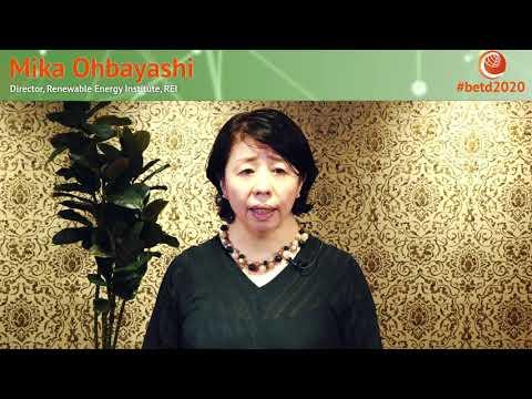 #betd2020 Speaker Statement: Mika Ohbayashi