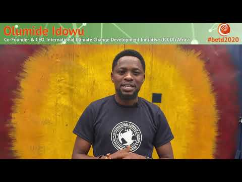 Faces of the Energy Transition: Olumide Idowu