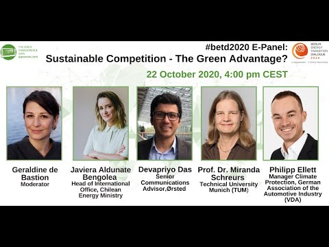 #betd2020 E-Panel: Sustainable Competition – The Green Advantage?
