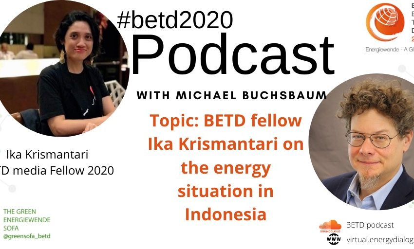 The new edition of the #betd2020 Podcast is up! @LMicalBuchsbaum sits down with #betdfellow & fellow competition winner Ika …
