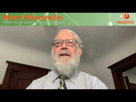 #betd2020 Speaker Statement: Robert Weisenmiller