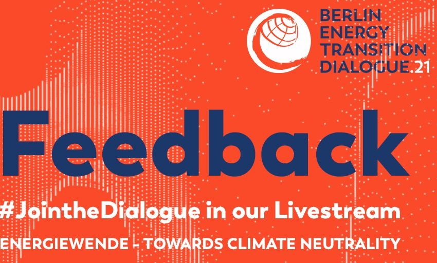@greensofa_betd: We are looking foward to your feedback of the #betd21! Please help us to further improve your conference with your oppinion as well as suggestions for next year. ➡️  @BMWi_Bund @bEEmerkenswert @eclareon_Berlin @dena_news @BSWSolareV