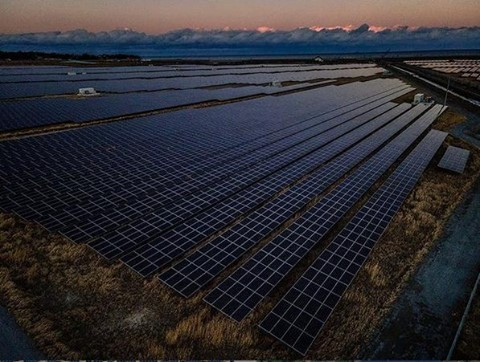 What a view: #solarpanels as far as the eye can see! 😍This picture was taken in Odaka, Fukushima Prefecture, Japan. ….