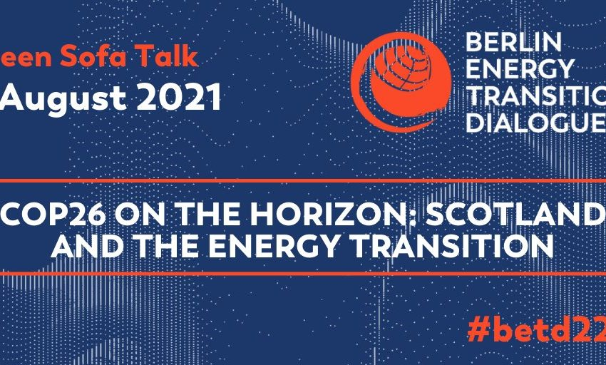 """@greensofa_betd: Great news! On August 3rd our next Green Sofa Talk will take place! @jxporto will interview @McClarity, Chief Executive of @ScotRenew on the topic """" @COP26 on the horizon: #Scotland & the #energytransition""""! Tune in and #JointheDialogue!@GermanyDiplo #betd22 #Energiewende"""