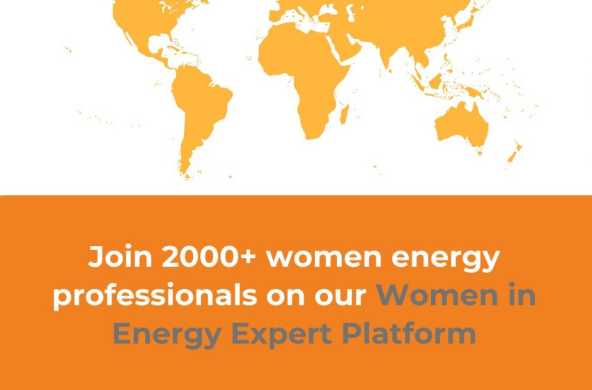 @GlobalWomensNet: Join our Women in Energy Expert Platform today⚡️and begin engaging with over 2000 women energy experts from 100+ countries. 👇