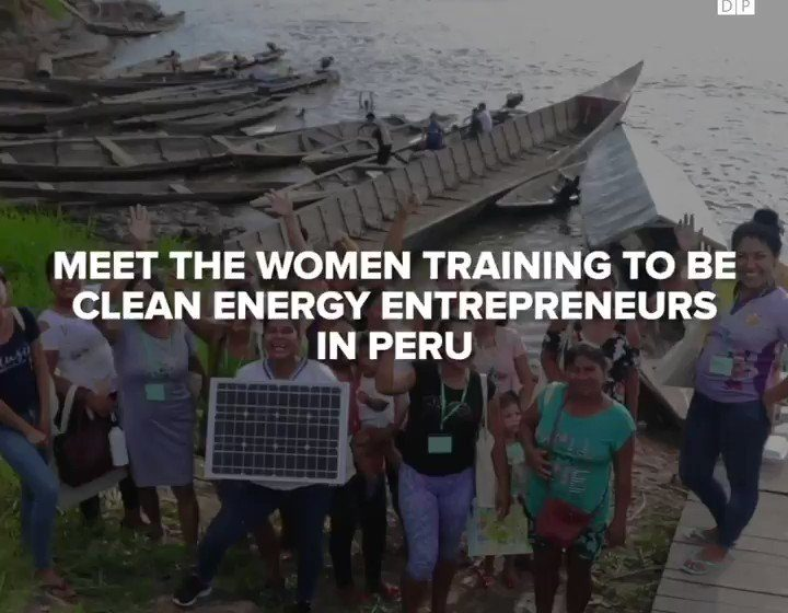@UN_Women: Is it possible to advance gender equality while promoting #ClimateAction?Meet Peru's #ruralwomen who have become energy entrepreneurs.via @UNDP